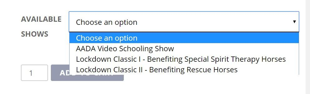 showsselection