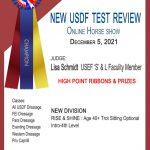 #5436 NEW USDF TESTS REVIEW | ONLINE HORSE SHOW